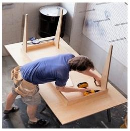 Сборка столов по низким ценам в Твери от специалистов