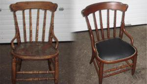 Перетяжка стульев на дому недорого в Твери